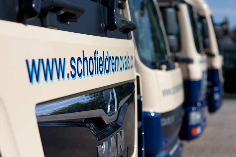 schofield removals trucks