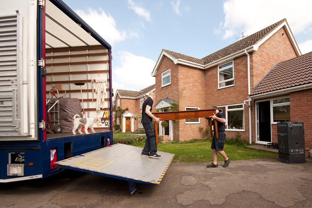 schofield removals team at work