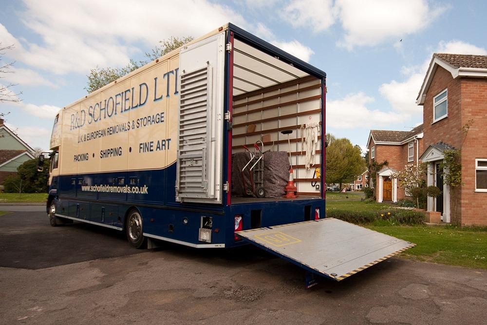 schofield removals truck